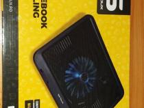 SERIOUX NOTEBOOK COOLING PAD ( nou ) 15.6 inch-pentru laptop