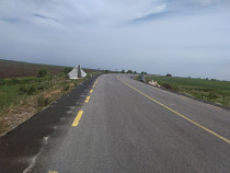 Teren Podari 10 ha desch la DE 79 (DN56) la 12 km de Craiova