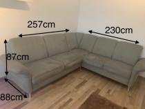 Canapea/coltar neextensibil