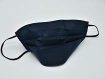 Mască reutilizabilă,pentru COPII și Adulți ,Bumbac/bleumarin
