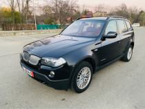 BMW X3 2010, Euro 5, panoramic, navigatie, Impecabil
