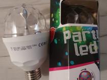 Bec disco rotativ bec rotativ bec party bec proiector 3w E27