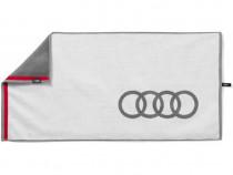 Prosop Plaja Oe Audi Alb / Gri 80 x 150CM 3131803000