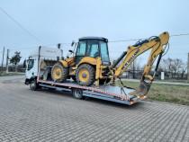 Tractari auto Alexandria Transport tractor buldo manitou