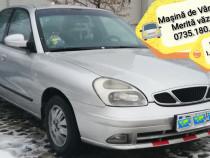 Daewoo nubira Auto argintiu
