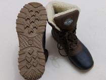 Cizme iarnă, ghete impermeabile boots Zero piele nubuc nr 43