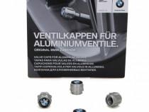 Set 4 Buc Capacele Ventil Aluminiu Oe Bmw 36122447401