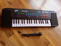 Orga electronica   37 clape + microfon   produs nou