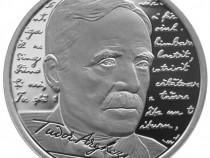 Moneda argint 140 ani de la nașterea poetului Tudor Arghezi