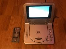 DVD player portabil 12v/220v auto/casa
