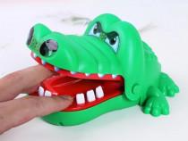 Jucarie Crocodil muscator funny pentru copii joaca cu dinti