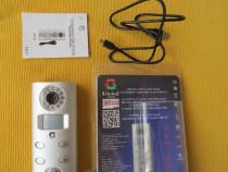 Alarma cu detector de miscare si inregistrar pe card microSD