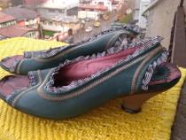 Sandale piele FLY London, mar 39 (24.5 cm)