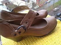 Pantofi, piele Jana Fashion, mar 39 (24.6 cm)