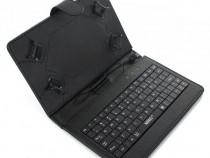 Husa Tableta 7 inch MRG, Cu tastatura, Micro USB, Negru C359