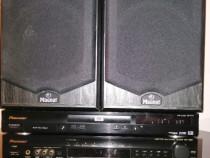 Pioneer receiver VSX-C300 si DVD DV-444 + boxe Magnat