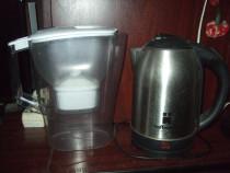 Filtru cană filtrat apa Britax și cană fiert apa Hoffmanns