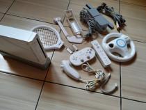 Wii: Consola Wii cu accesorii & cele mai cunoscute jocuri!