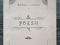 Carte veche 1897 aurel ciato poesii