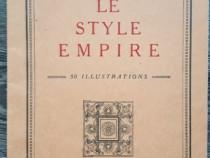 Carte veche le style empire