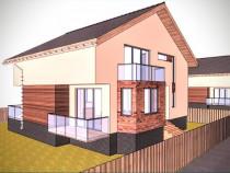 Casa individuală cu 4 camere, zona de case, Cristian