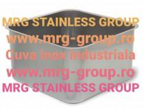 Cuva inox 400x400x300mm cuva otel inoxidabil tabla inox