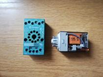 Releu Finder de putere 230V 10A cu soclu