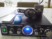 Instalatie Amplificare stereo 2/50W-Radioreceptor +MP3.