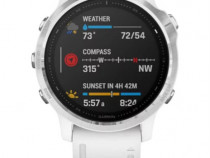 Ceas Smartwatch Garmin Fenix 6S, 42 mm, White NOU, factura