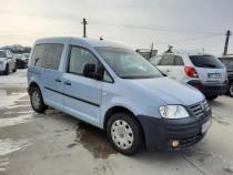 VW Caddy Life 2008, 1.9TDi 105 CP E4 6 usi 5 locuri, AC navi