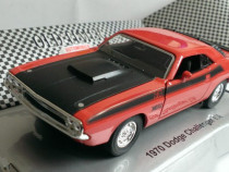 Macheta Dodge Challenger T/A 1970 - Welly 1/36 muscle car