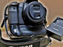 Aparat foto DSLR Canon EOS 60D, 18MP, Black + Obiectiv EF 50