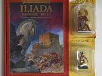 8 figurine + 4 cărți: Iliada, Odiseea, Eneida, Metamorfoze