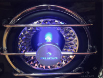 Amplificator de masina auna mp cho2 1400w+subwoofer baddbox