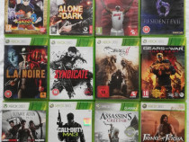 Jocuri originale pentru console Xbox 360