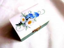 Cutie din lemn decorata 38264