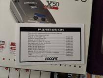 Detector radar escort passport x50 Euro K-pulse