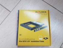 """Installation Frame Delock SATA 5.25 pentru 2.5"""" SATA HDD"""