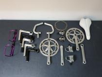 Diverse piese de bicicleta Shimano, Campagnolo, Cinelli, etc