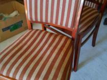6 scaune vintage foarte elegante,tapitate model 1974