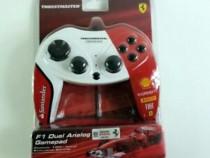 Gamepad Thrustmaster F1 Dual Analog Ferrari, nou!