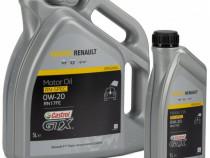 Set 6L Ulei motor Castrol Renault GTX 0W-20