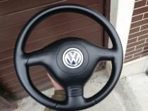 Volan sport piele 3 spite VW Golf 4 / Bora / Passat / Skoda