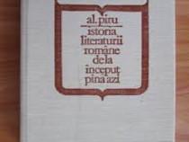 Al. Piru -Istoria Literaturii romane de la inceput pana azi