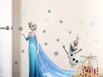 Sticker Elsa Frozen STICKERE PERETE camera fete Disney