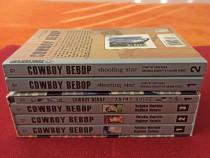 Cowboy Bebop(Vol.1-3)+AnimeGuide+Shooting Star(Vol.1-2)Manga