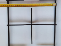 Gratar resou 2 ochiuri 24,5*49cm