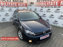 Volkswagen golf vw golf 6-automata-2010-benzina-rate-