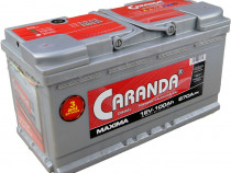 Baterie auto 12V 100Ah 870A CARANDA MAXIMA 3 ani Garantie