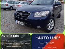 Hyundai Santa Fe 7 Locuri Posibilitate rate fara avans